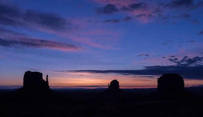 Photographier le coucher de soleil à Monument Valley